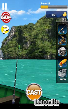 Fishing 3D v 1.1.4 (Mod Money/Energy/Ads-Free)