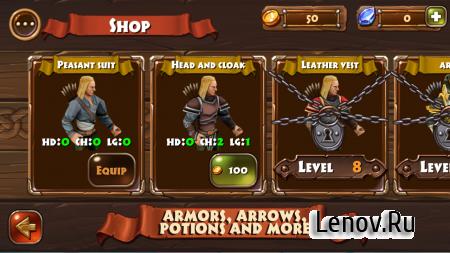Archers Clash Multiplayer Game (обновлено v 1.022) (Mod Money)