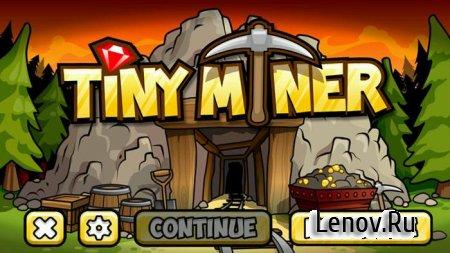 Крохотный шахтёр (Tiny Miner) v 1.5.37 (Mod Money)