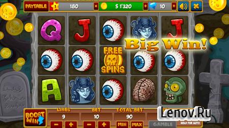Zombieland Slot ★ VIP v 1.5.1 Мод (Unlimited Coins/Gems/Bonus Points)