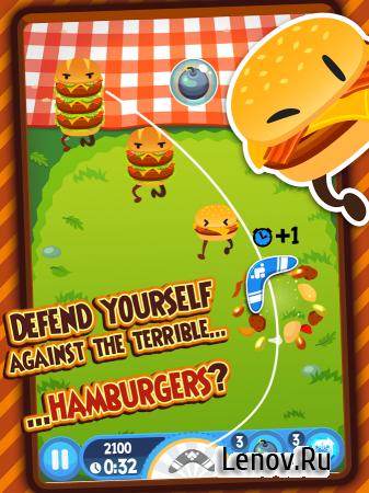 Burgerang - The Food Wars v 1.4.3 (Mod Money)