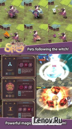 WitchSpring v 1.85 (Unlimited Money & More)