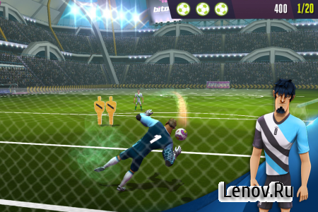Kicks!Football Warriors-Soccer v 1.0.8 (Mod Stars/Gems)