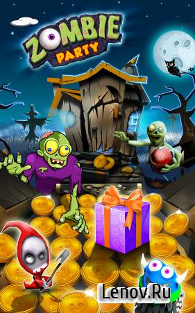 Zombie Party: Coin Mania (обновлено v 1.0.8) (Infinite Diamonds & More)
