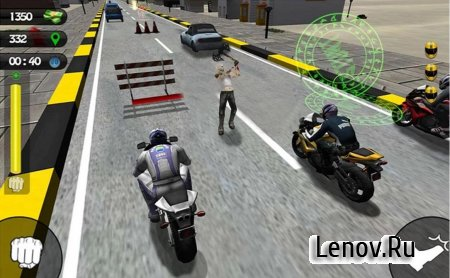 Bike Attack Race: Stunt Rider (обновлено v 5.0) (Mod Money/Unlock)