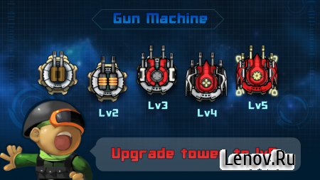 Galaxy War Tower Defense (обновлено v 1.3.2) (Mod Money)