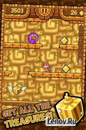 Tappy Run 2 - A Treasure Hunt v 1.2.9 Мод (Money/Revive/NO Ads)