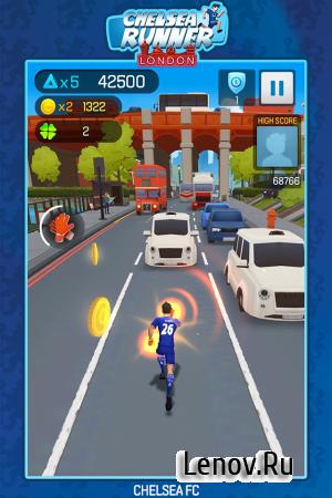 Chelsea Runner v 1.2.3 Мод (Coin/Whistle/Unlocked)