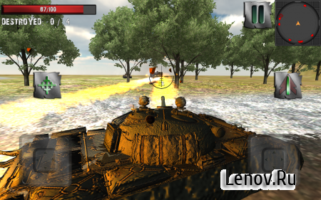 Russian Tank Battle v 1.2 (Mod Money/Ad-Free)