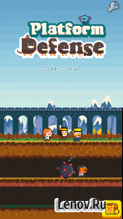 Platform Defense (обновлено v 1.58) (Full) (Mod Money/Unlocked)