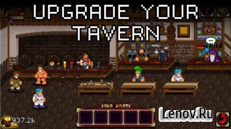 Soda Dungeon v 1.2.44 Мод (Unlimited Gold + Critical)
