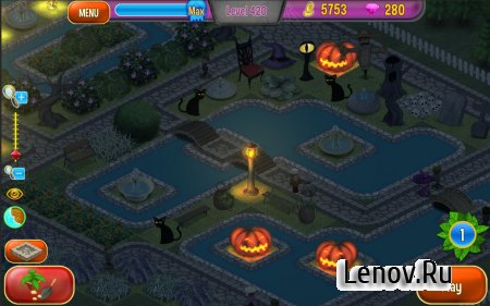 Queen's Garden Halloween v 1.0 (Mod Money)
