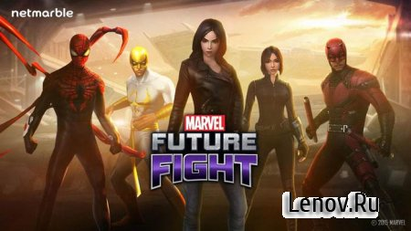 MARVEL Future Fight v 5.7.0 Mod (x5 Attack & Defense/No Skill Cooldown)
