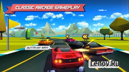 Horizon Chase - World Tour v 1.6.2 Мод (Mod Money/Unlocked)
