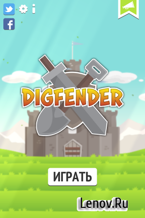 Digfender v 1.3.6 Мод (Free towers/gold)