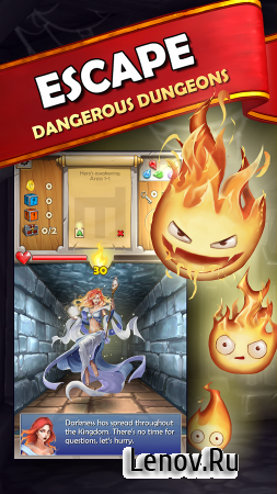 Dungeon Monsters v 3.1.118 Мод (increasing gems/no ads)