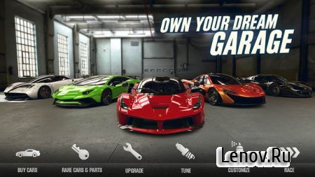 CSR Racing 2 v 2.9.2 Мод (Free Shopping)
