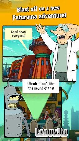 Futurama: Game of Drones (обновлено v 1.12.0) (Mod Money/Lives/Ad-Free)
