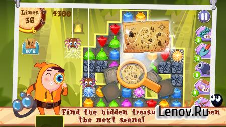 King Of Crush: Lost Treasure v 1.8 (Mod Coins)