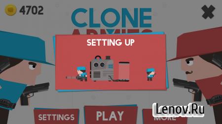Clone Armies v 4.4.7 (Mod Money)