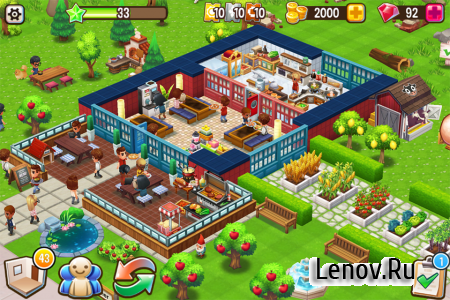 Food Street v 0.53.4 (Mod Money)