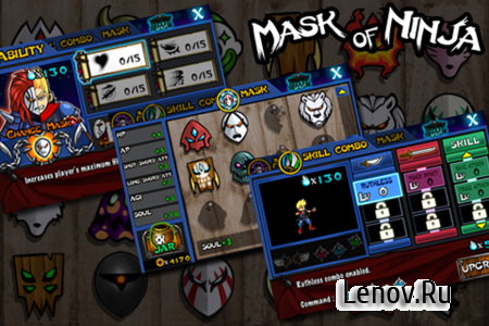 Mask Of Ninja v 1.0.4 (Mod Money)