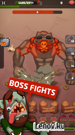 Desert Zombies v 1.01 Мод (Unlimited gems & More)