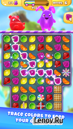 Yummy Gummy v 3.1.1 Мод (Unlimited Lives & More)