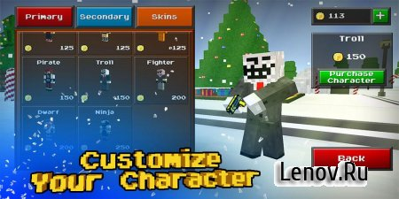 Pixel Strike 3D v 8.6.0 Мод (Unlimited Money)