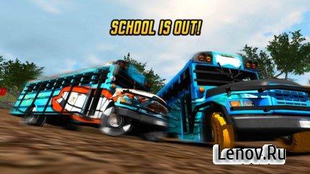 School Bus Demolition Derby v 1.0.1 Мод (много денег)