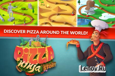 Pizza Ninja Story v 1.0.16 (Mod Money)
