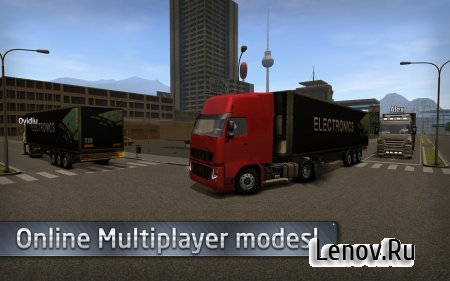 Euro Truck Driver v 2.1.0 (Mod Money)