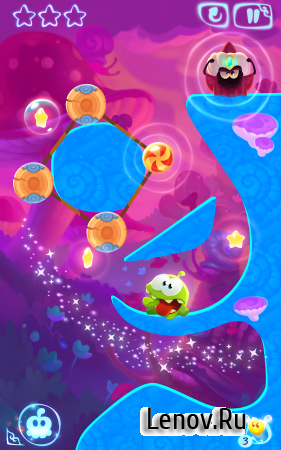 Cut the Rope: Magic v 1.14.0 (Mod Crystals/Hints)