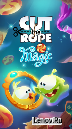 Cut the Rope: Magic v 1.11.0 (Mod Crystals/Hints)