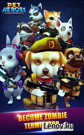 Action of Mayday: Pet Heroes v 1.0.1 (Mod Money)