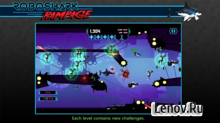 Robo Shark Rampage v 1.0 (Full) (Mod Money/No Damage)