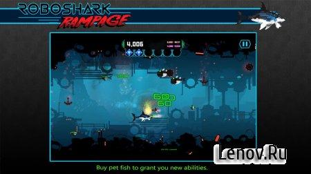 Robo Shark Rampage v 1.0 (Full) (Mod Money/No Damage)
