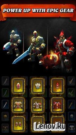 Jump Warrior: Nonstop RPG v 1.4.0 Mod (High Damage + HP + Gold Drop Rate)