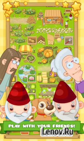 Garden Island: Farm Adventure (обновлено v 36.0.0) (Mod Coins/Hearts)