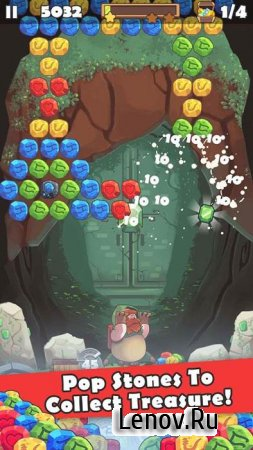 Bubble Shooter Treasure Pop v 1.2.2 Мод (много денег)