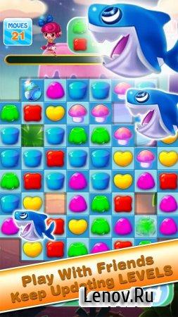 Jelly Heros Mania - King Charm v 1.01 (Mod Gems)