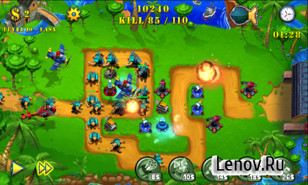 Tower Defense Evolution 2 (обновлено v 1.3) (Mod Money)