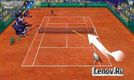 3D Tennis v 1.8.1 Мод (Infinite Cash)