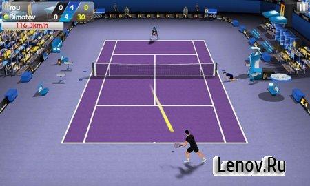 3D Tennis v 1.8.3 Мод (Infinite Cash)