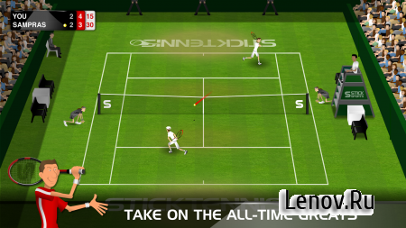 Stick Tennis v 2.4.0 Мод (Everything Unlocked & Unlimited Balls)