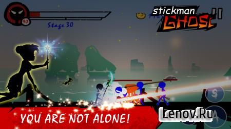 Stickman Ghost: Ninja Warrior v 1.9 (Mod Money)