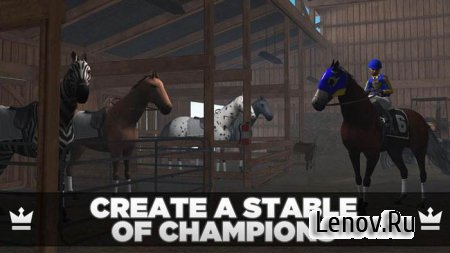 Photo Finish Horse Racing v 90.3 Мод (много денег)