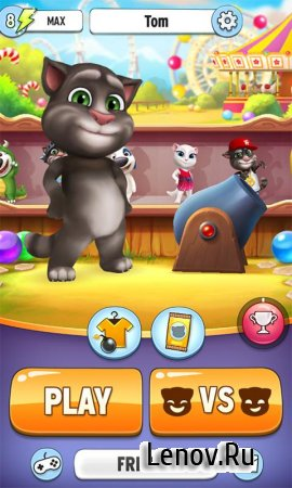Talking Tom Bubble Shooter v 1.5.3.20 Мод (Unlimited Coins & More)