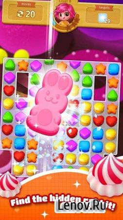 Sweet Cookie Blast (обновлено v 1.24) (Mod Gems)