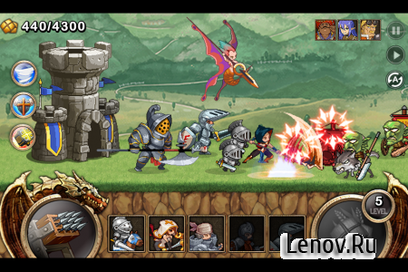 Kingdom Wars v 1.6.4.5 Мод (много денег)